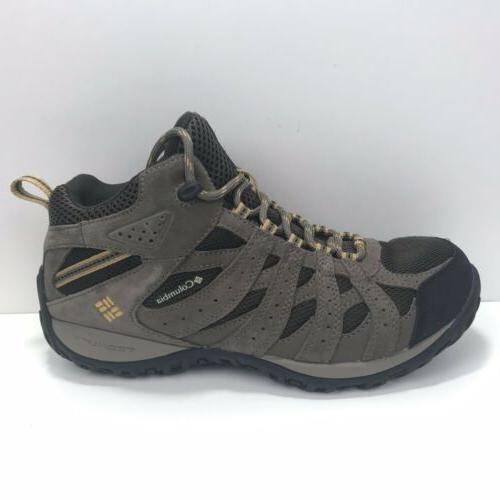 Columbia wide Cordovan/Brown Waterproof Hiking Boots
