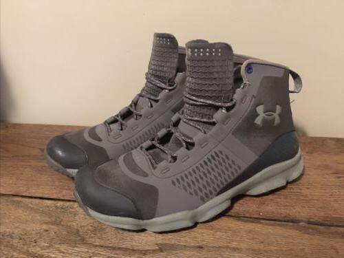 men s 8 speedfit gray hiking boots