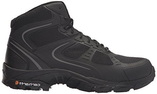 Carhartt Toe Hiker Boot, Black Mesh and M US