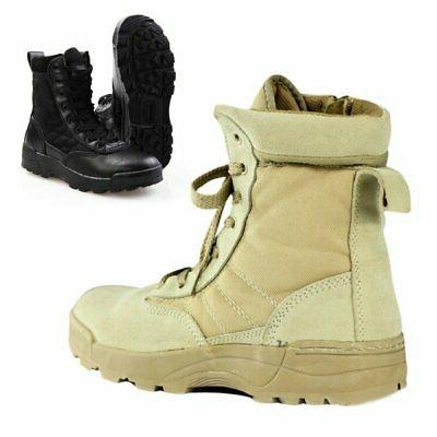 Leather Deployment Boots Hiking