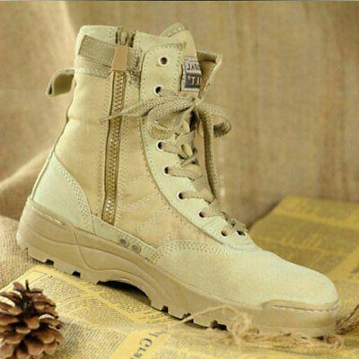 Military Leather Deployment Boots