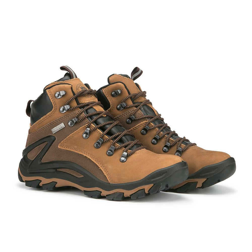ROCKROOSTER Hiking Boots Mens Waterproof Outdoor Slip Resist