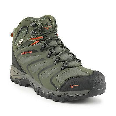 NORTIV 8 Mens Waterproof Hiking Boots Backpacking Lightweigh