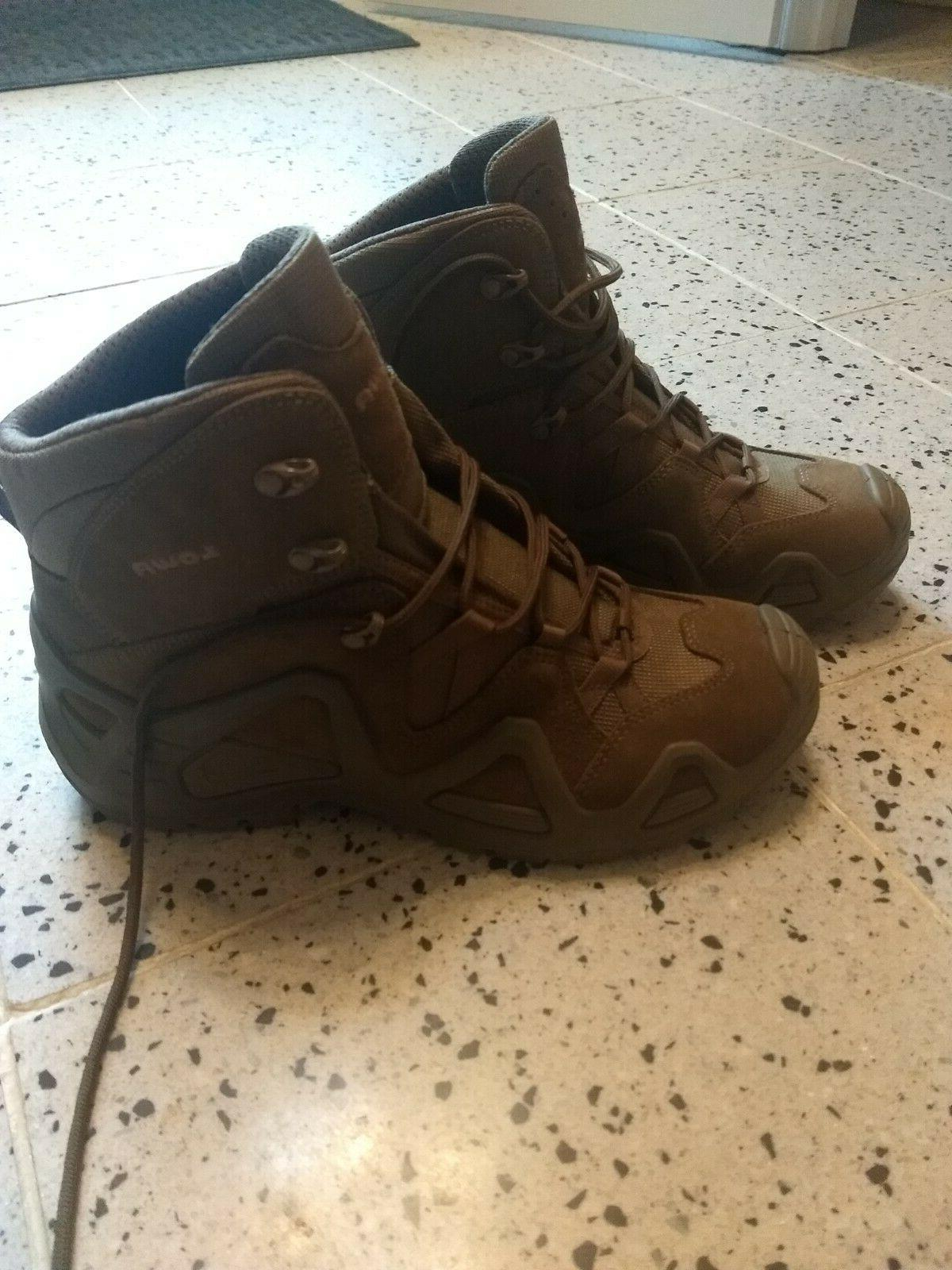 Men's Zephyr TF Hiking Shoes. Size 11. Coyote
