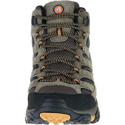 Merrell Men's Moab Mid Hiking 100% Suede And Vibram Sole
