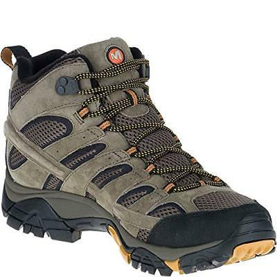 Merrell Mid Hiking Boot 100% Suede Vibram