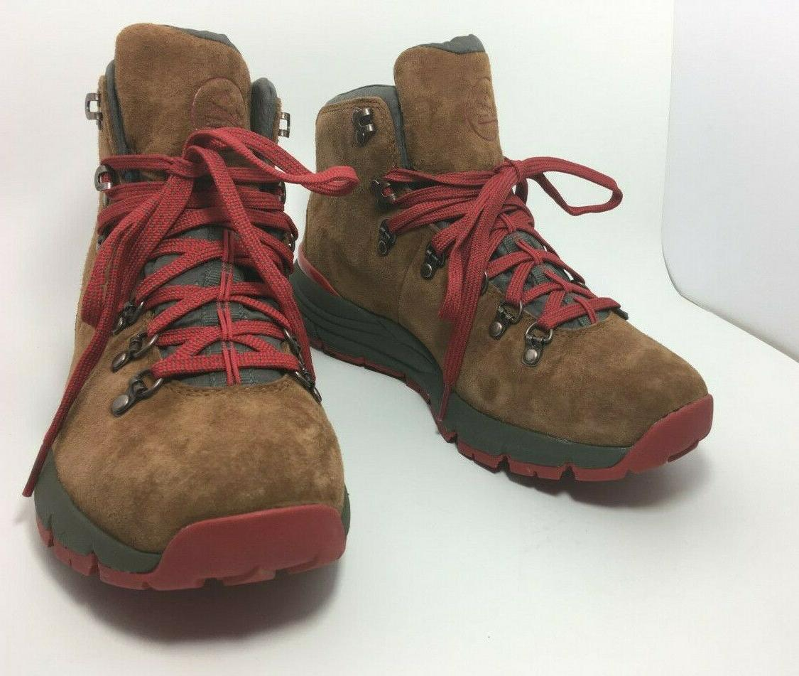 """4.5"""" Brown Red Hiking Size"""