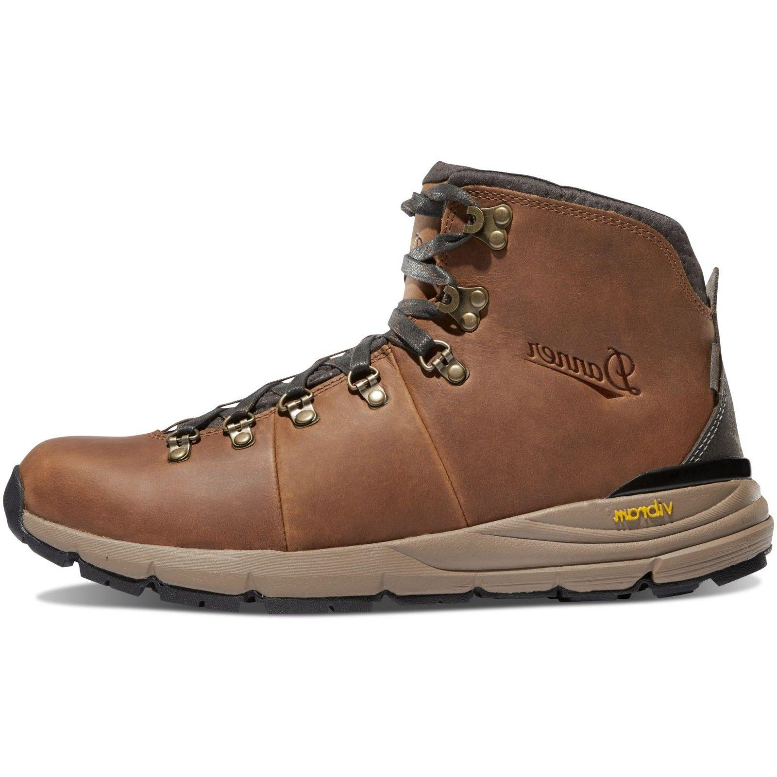 """Danner Mountain 4.5"""" Brown Boots #62250"""