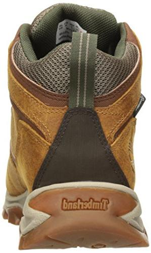 Timberland Men's Mid Leather Wp Boot, Grain, Medium