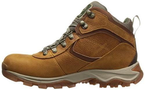 Timberland Men's Maddsen Mid Leather Wp Boot, Grain, US