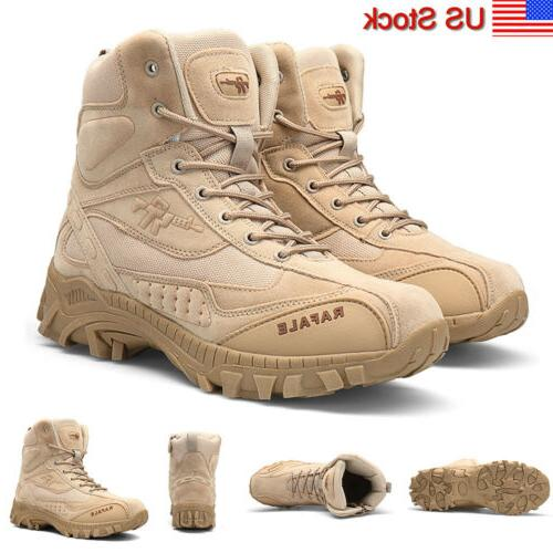 men s outdoor hiking combat military boots