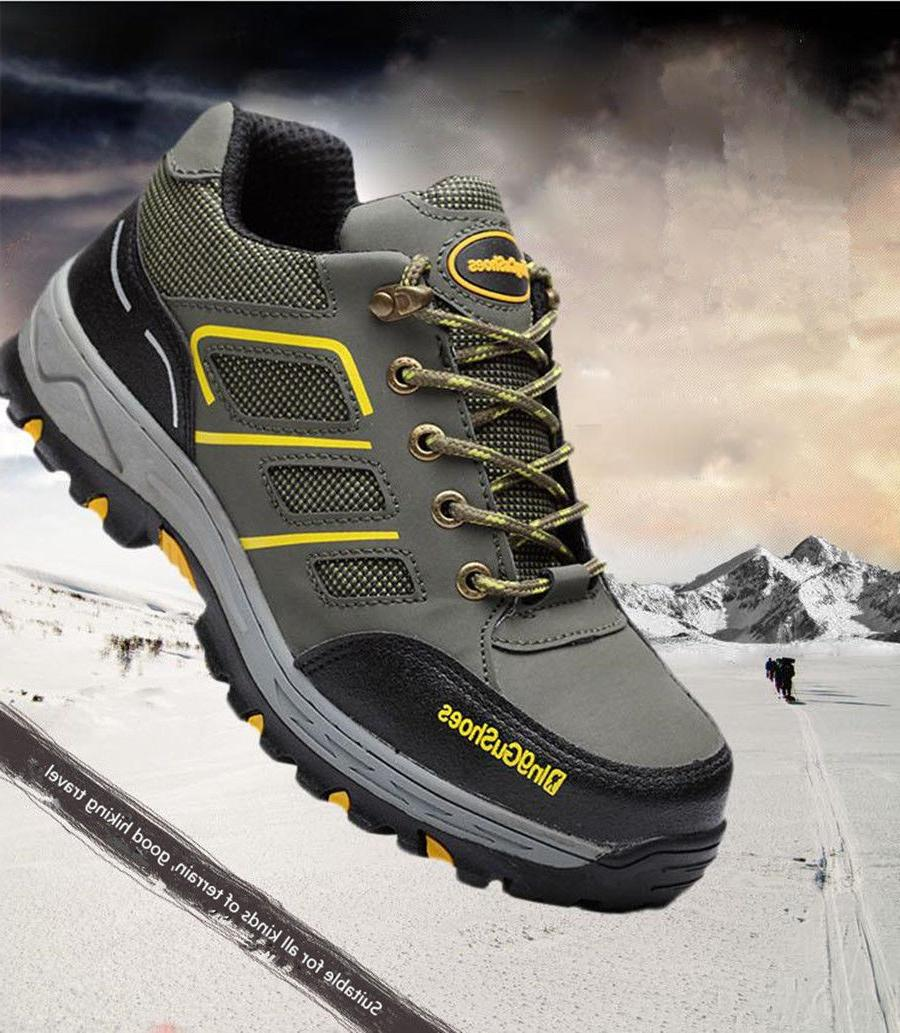 Men's Safety Toe Breathable Hiking Waterproof fromUS