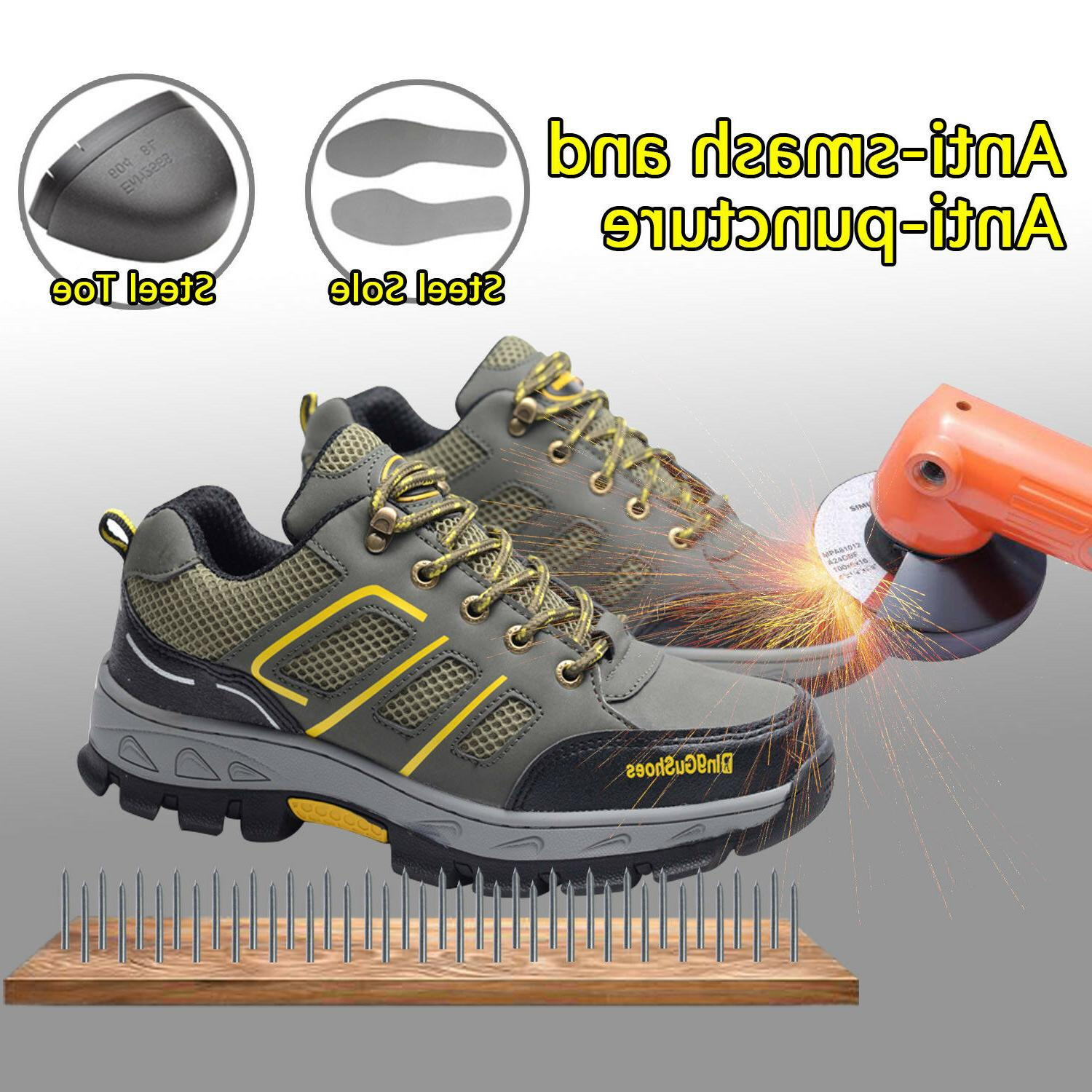 men s safety shoes steel toe