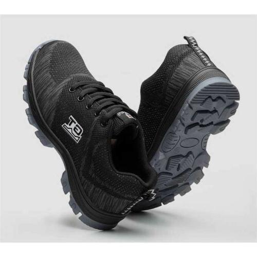 Men's Safety Steel Toe Boots Outdoor Sneakers