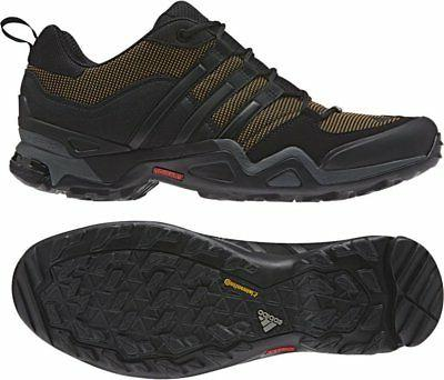adidas Men's  Outdoor Terrex Fast X Hiking Shoe - Earth/Blac