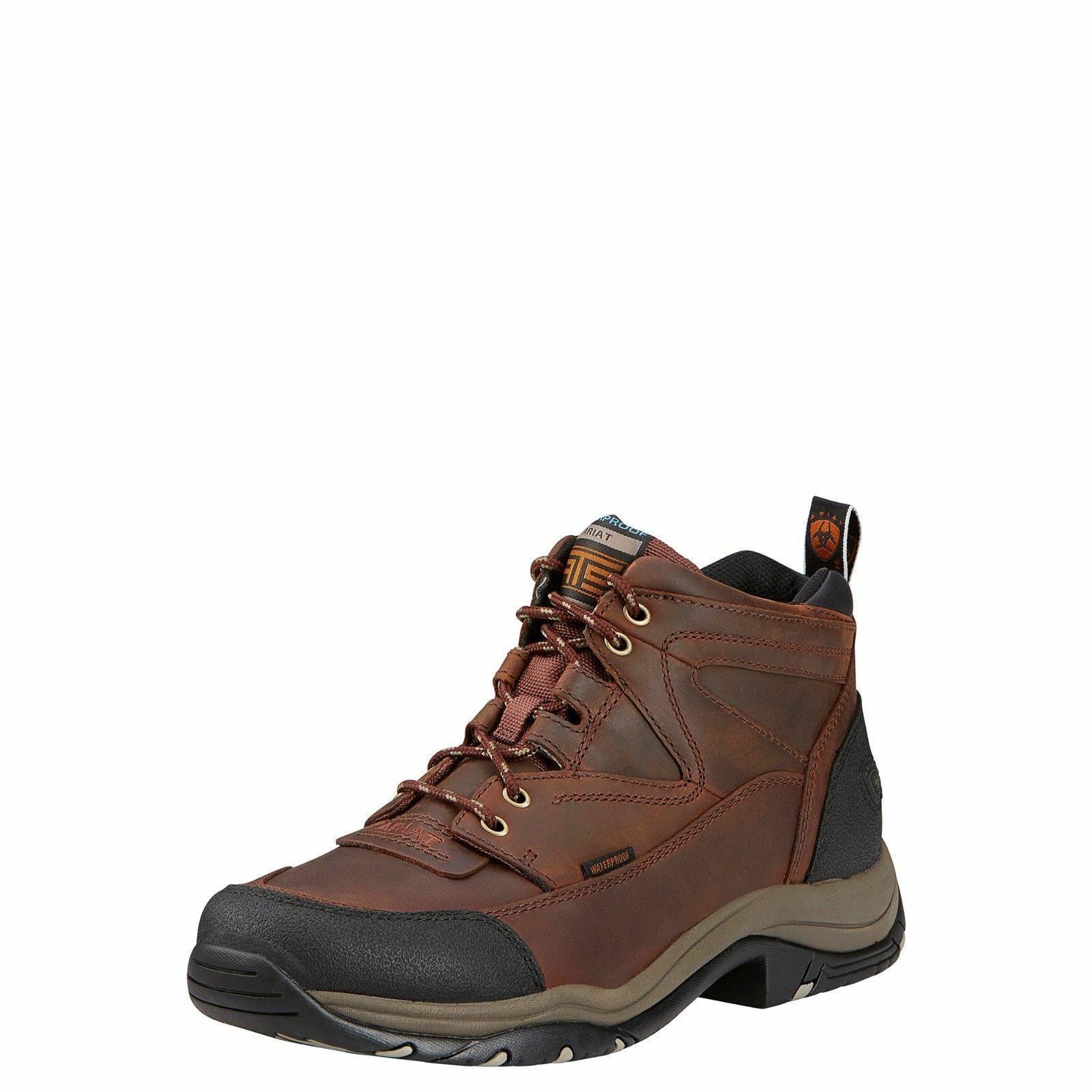 men s terrain h2o brown hiking boots