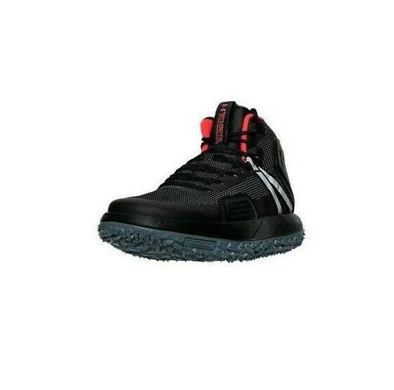 Men's Under Hiking Boots Black 1296611-001