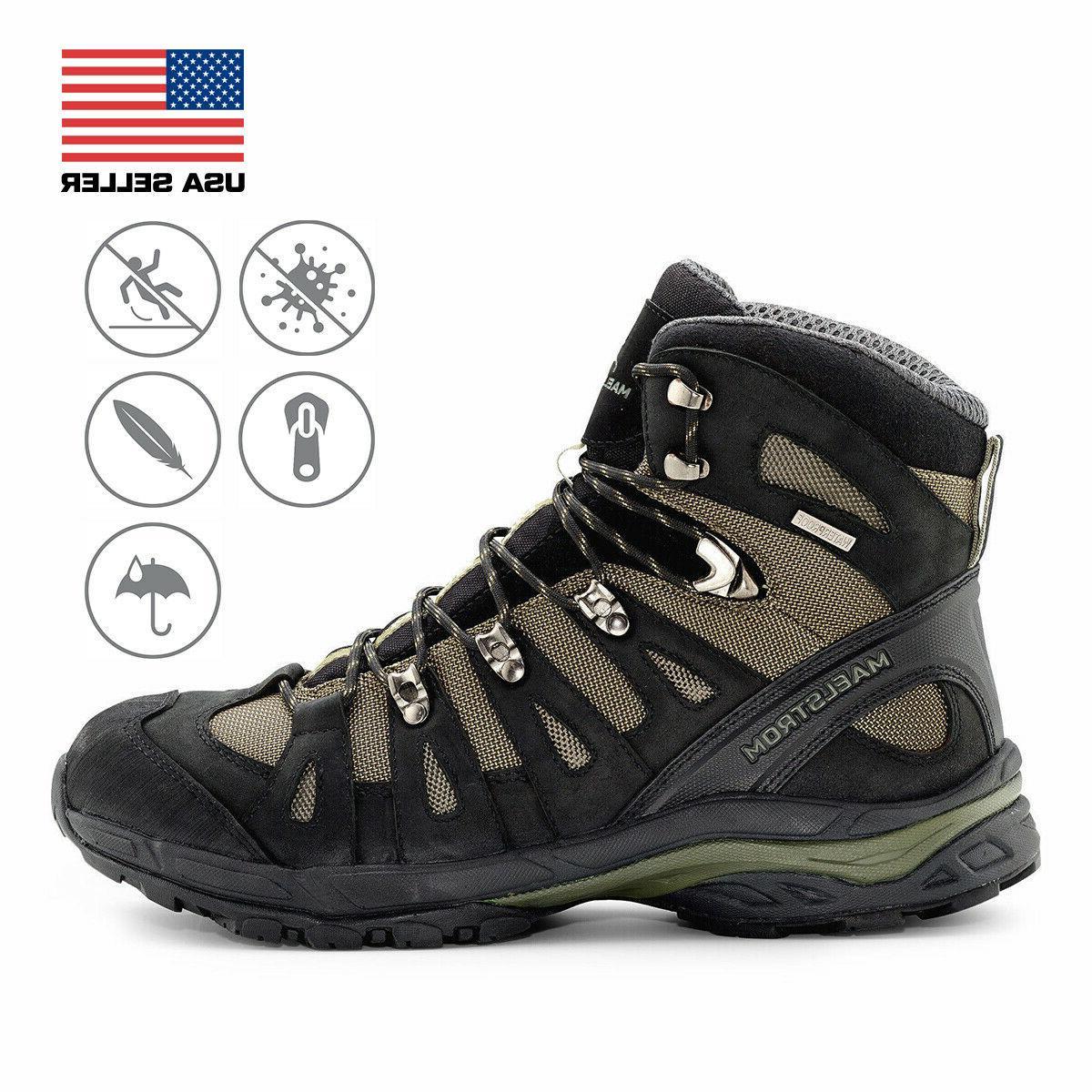 men s waterproof hiking boots in various