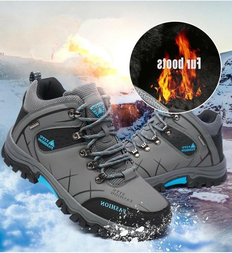 Men's Winter Warm Ankle Hiking