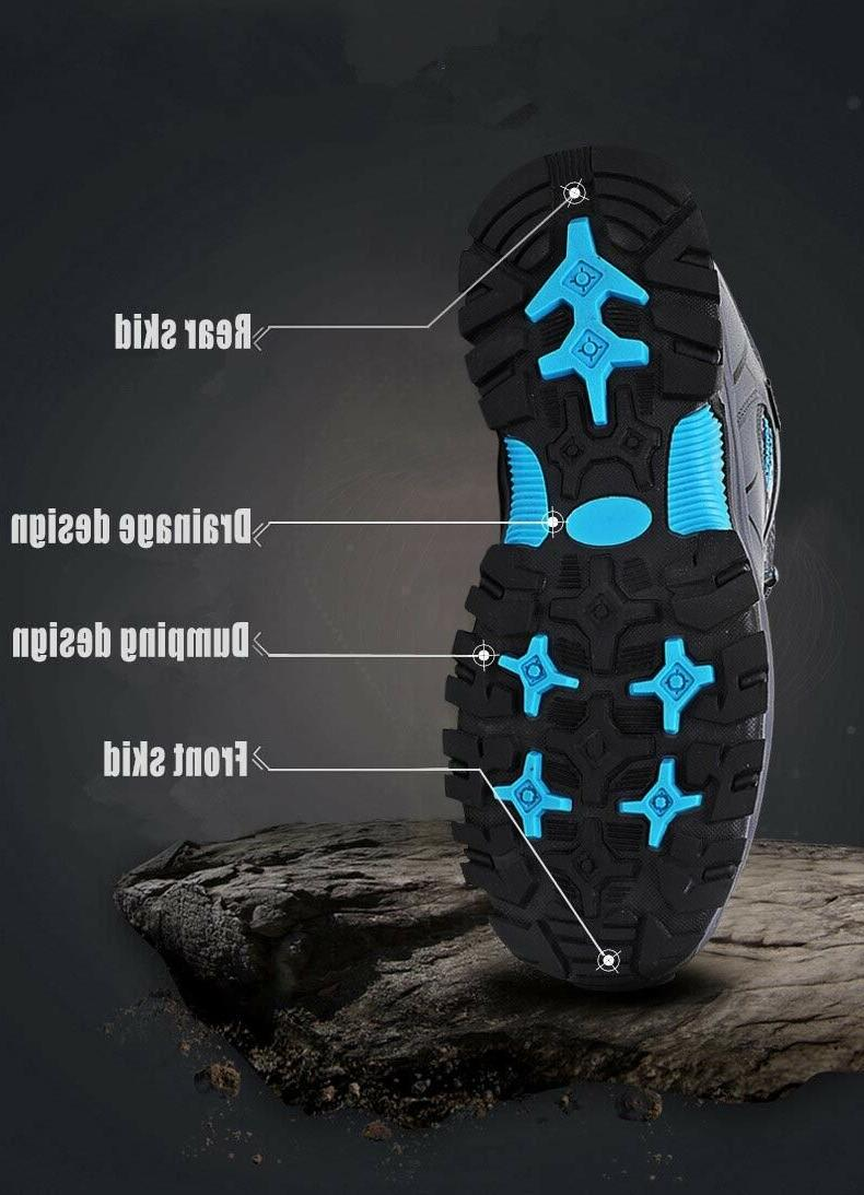 Men's Warm Sports Outdoor Waterproof Ankle Hiking Work