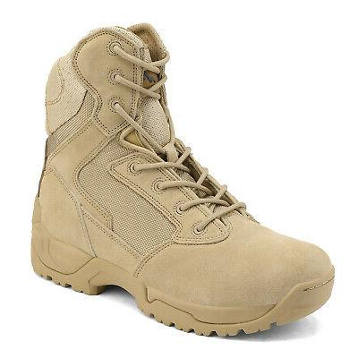 mens desert military combat tactical work boots