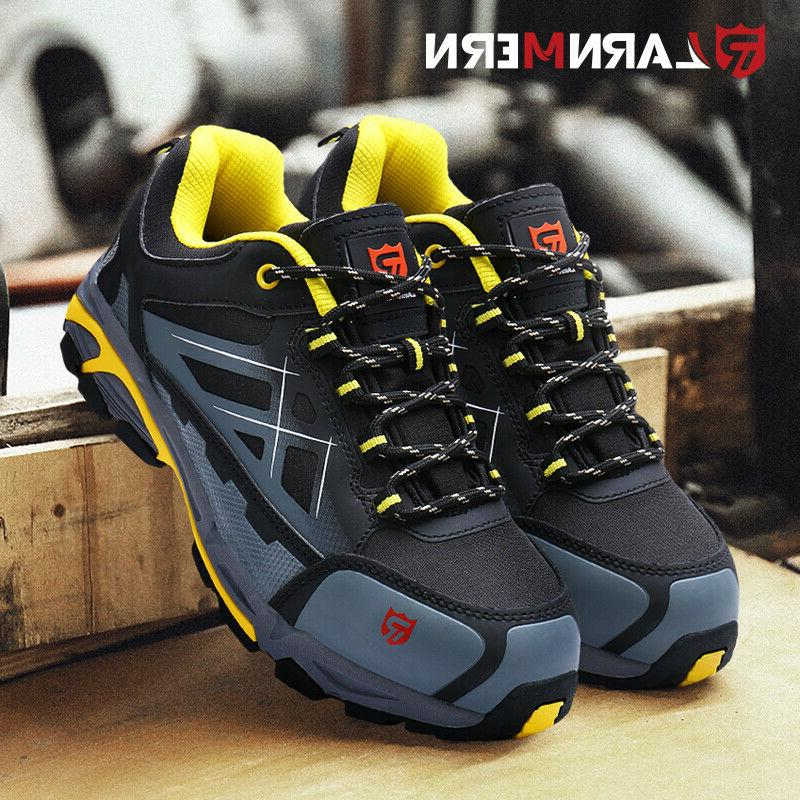 LARNMERN Boots Outdoors Hiking Waterproof