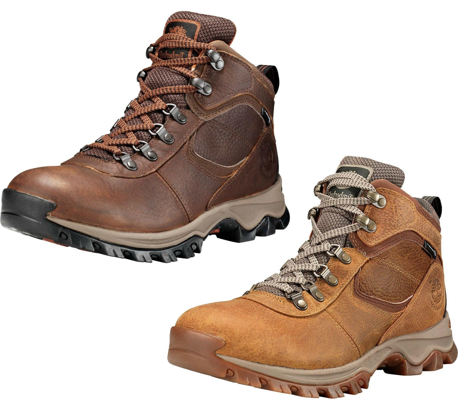 mens boots mt maddsen brown hiking boots