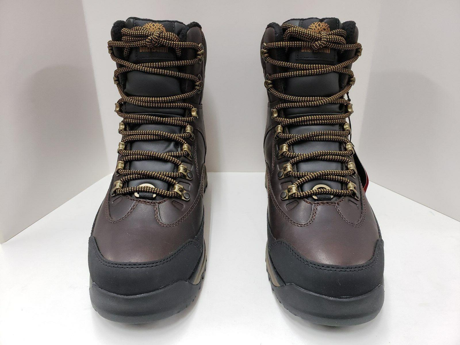 Mens Waterproof Boot Brown