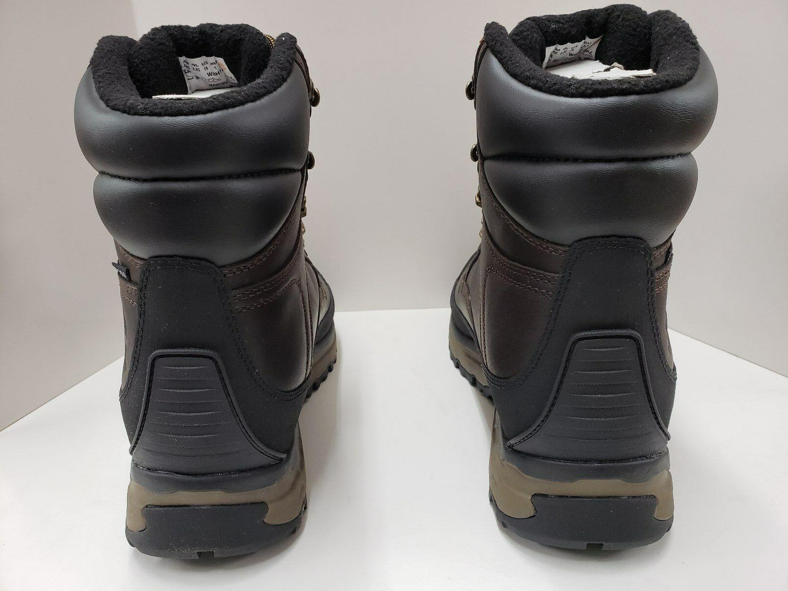 Mens Waterproof Hiking Boot Brown