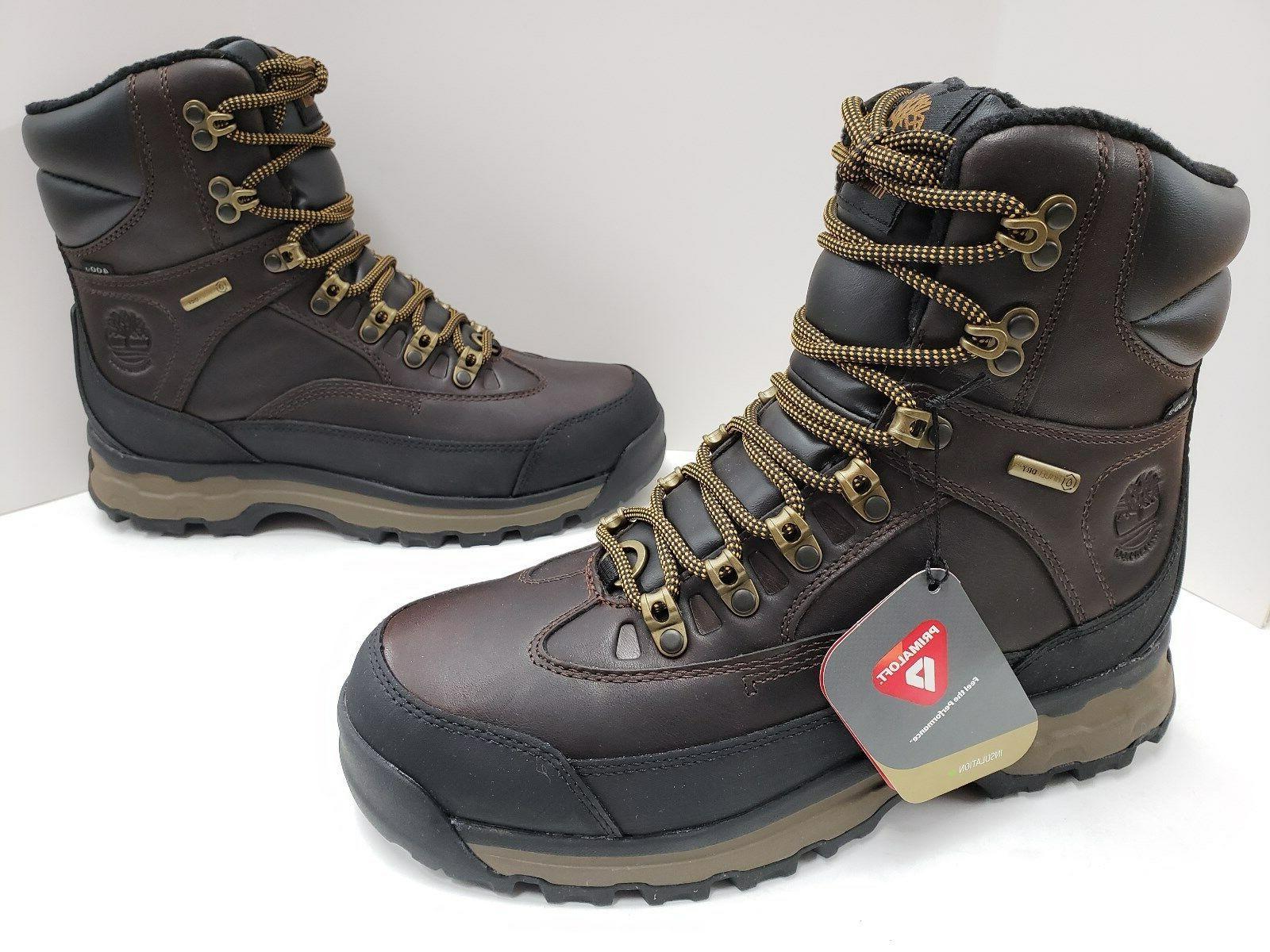 mens chocorua 8 waterproof 400g insulated hiking