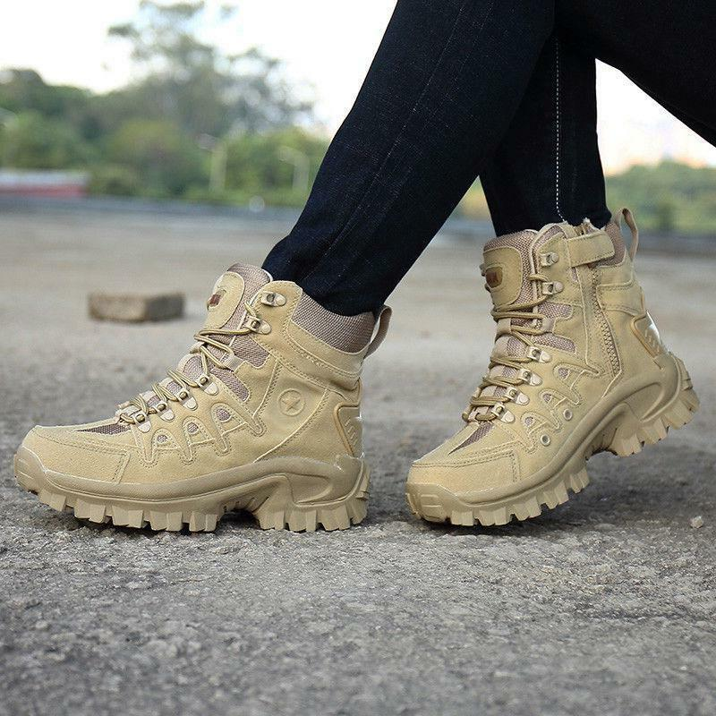 Mens Tactical Boots Hiking Combat