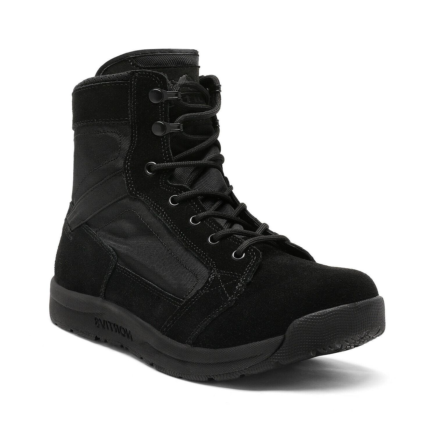 Mens Army Boots Lightweight Work Boots
