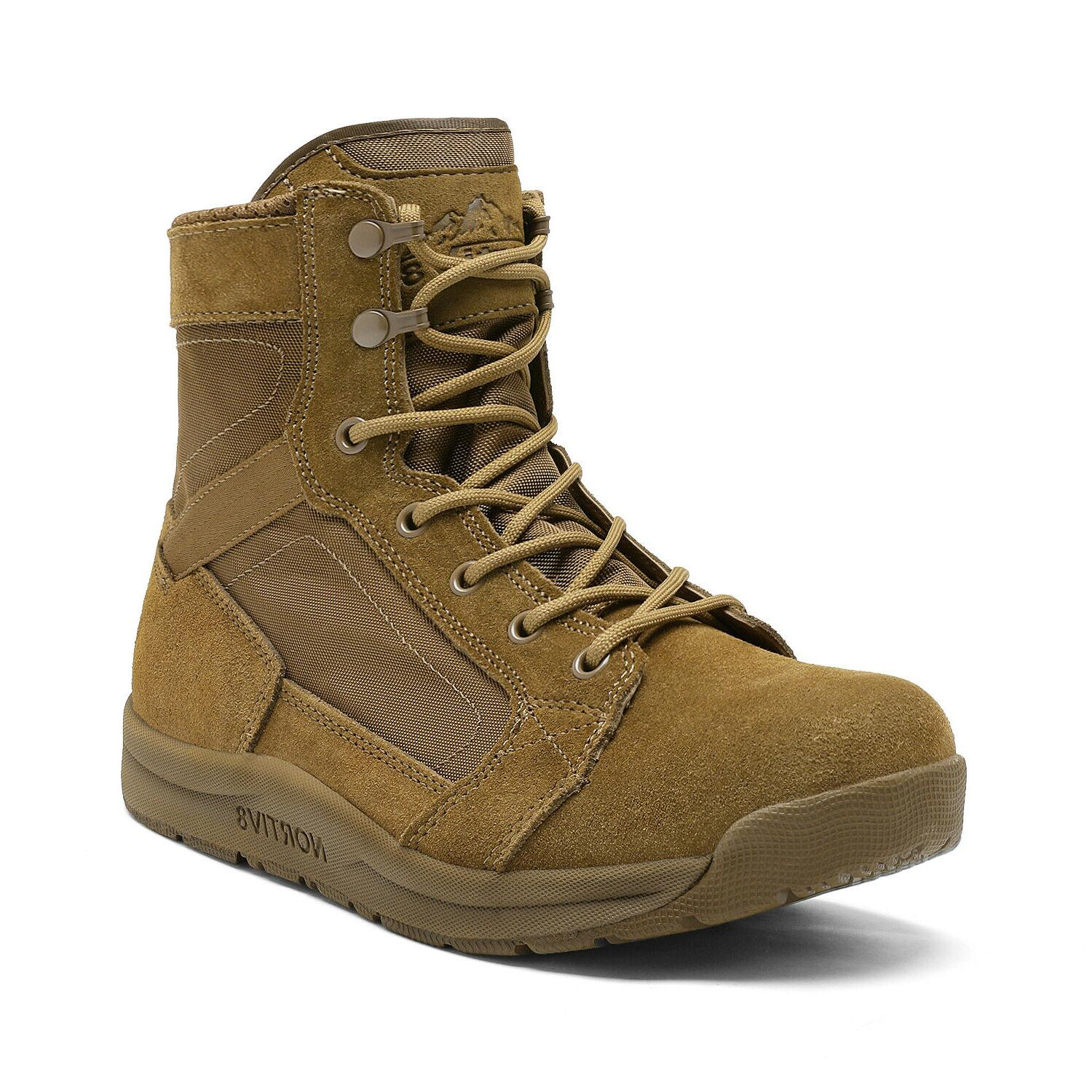 Mens Military Army Work Boots Shoe