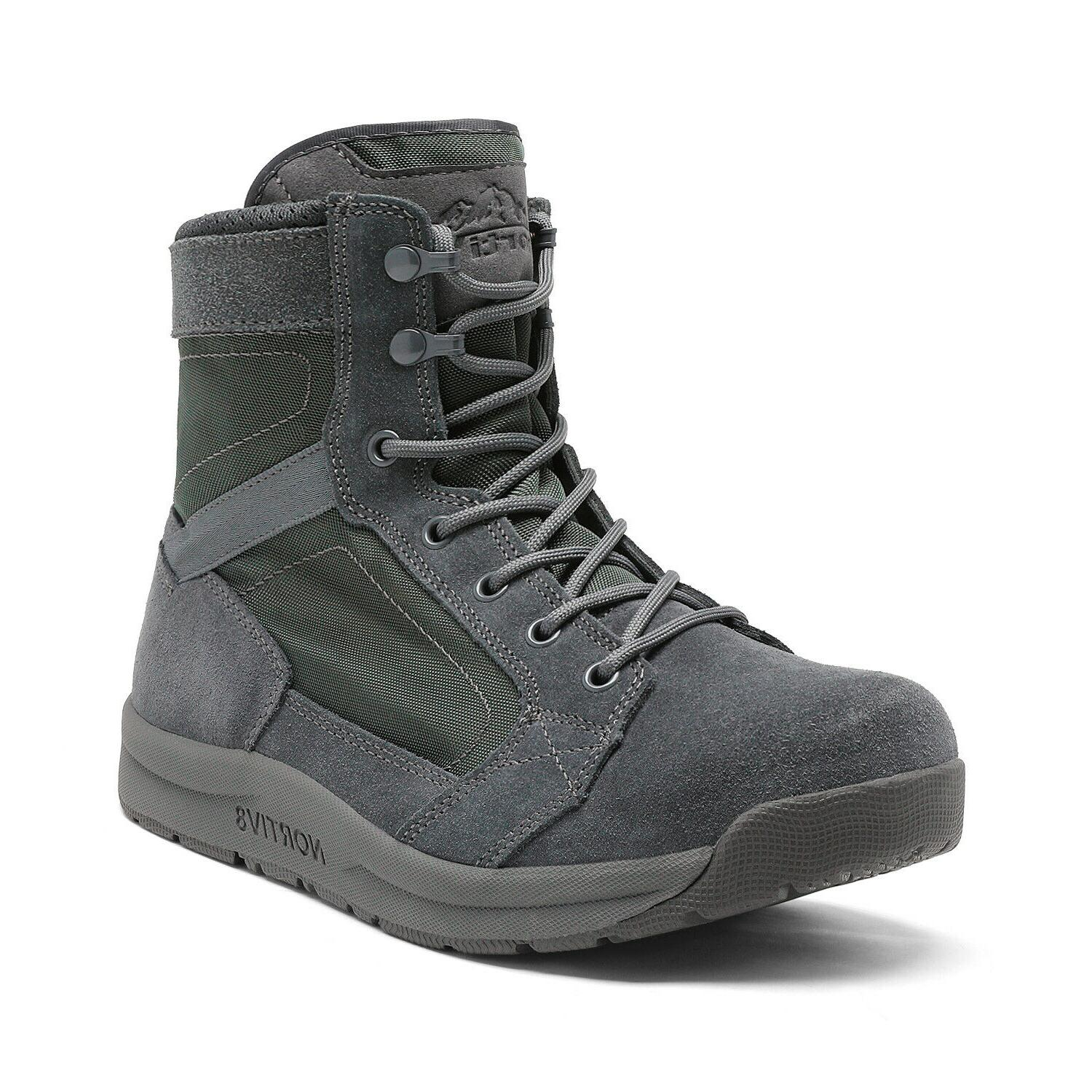 Mens Army Boots Lightweight Hiking Work