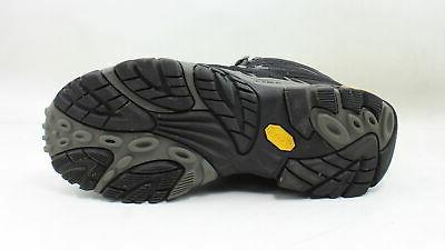 Merrell Mens Moab Mid Black Boots