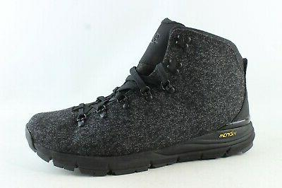 mens mountain 600 black hiking boots size