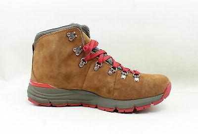 Danner Mountain 600 Brown/Red Hiking 11.5