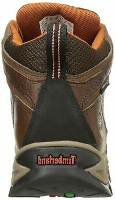 TIMBERLAND MENS MID LEATHER HIKING BOOT WATERPROOF