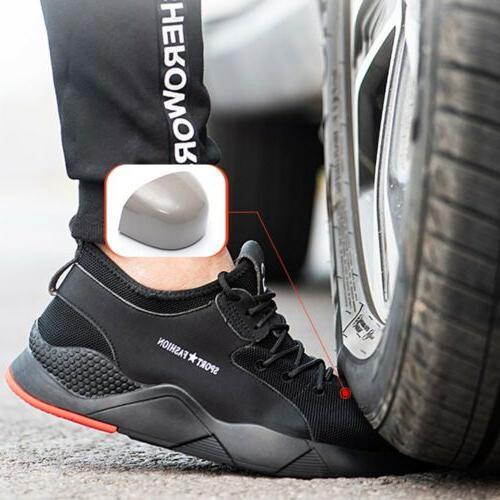 Mens Work Steel Toe Boots Indestructible Sneakers D