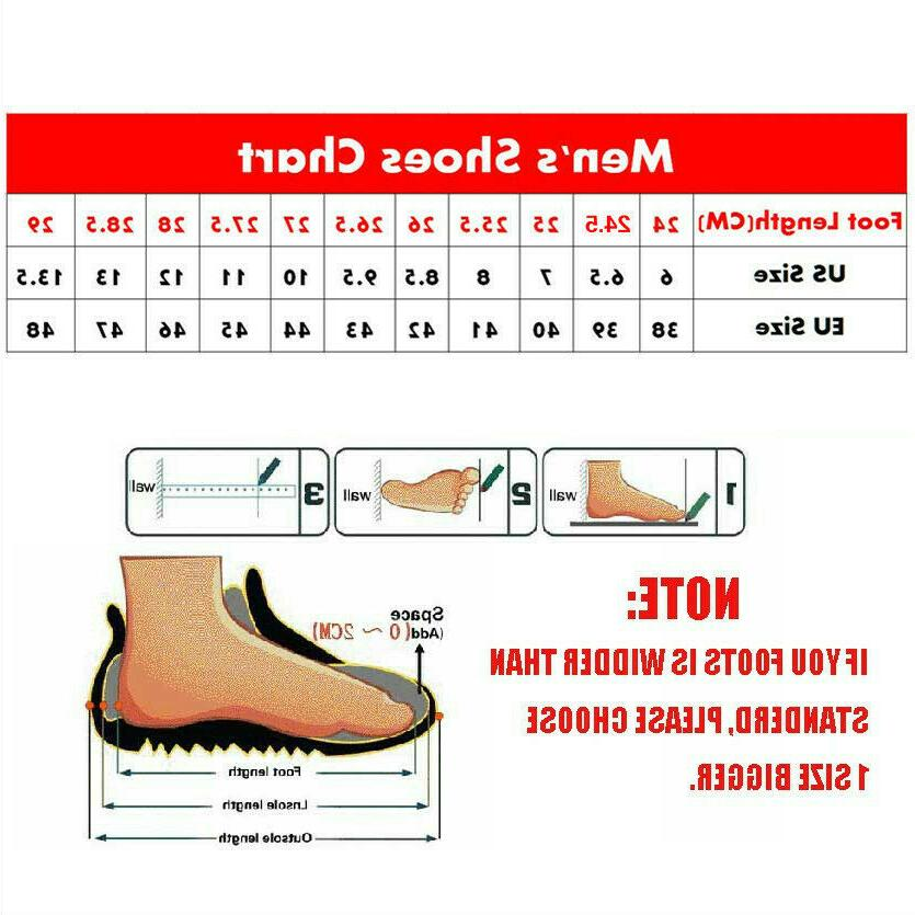 Mens Lined Outdoor Hiking Ankle Shoes Waterproof