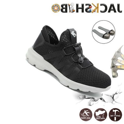 Mens Shoes Steel Sneakers Waterproof