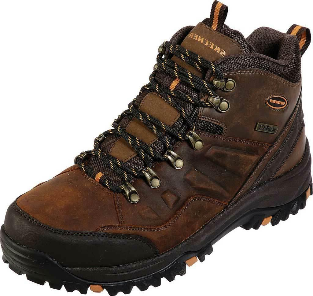 Skechers Mens Work Relaxed Fit Relment Traven Hiking Boot Me