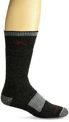Darn Tough Merino Wool Boot Socks Full Cushion - Black X-Lar