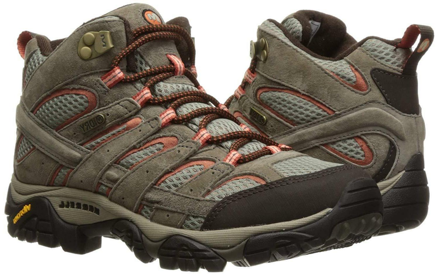 Merrell Women's Moab 2 Mid Waterproof Boot
