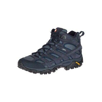 Merrell 2 Smooth Mid Hiking Shoes All Sizes נעלי מירל