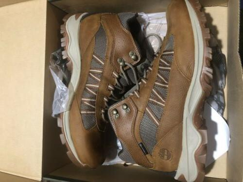 TIMBERLAND MID BOOTS LEATHER SIZE NIB