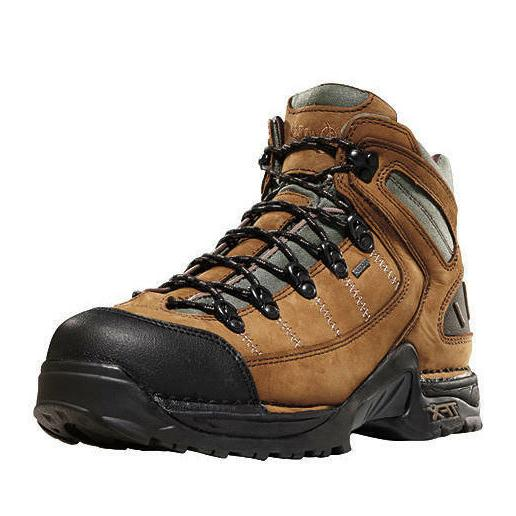 """NEW Danner 453 Hiking Boots, 5.5"""" Tan Leather, Grey Gore-Tex"""