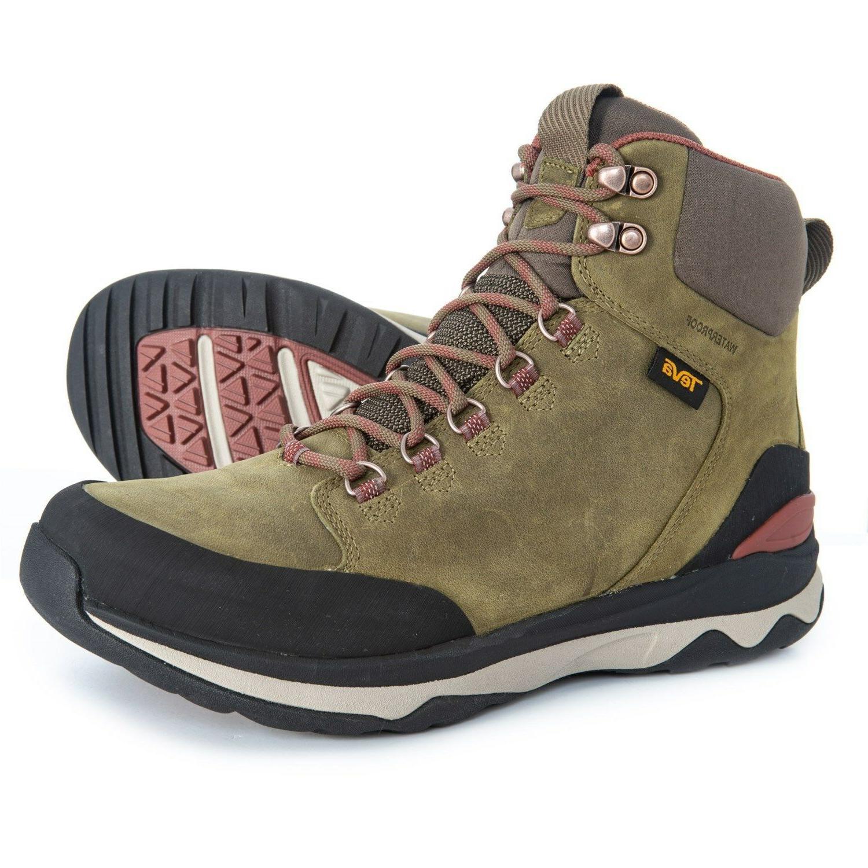 New Teva Utility Tall Hiking Boots Waterproof