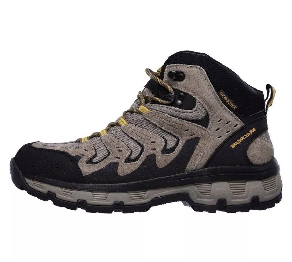 NEW Skechers Relaxed Fit Morson Gelson Hiking Boots