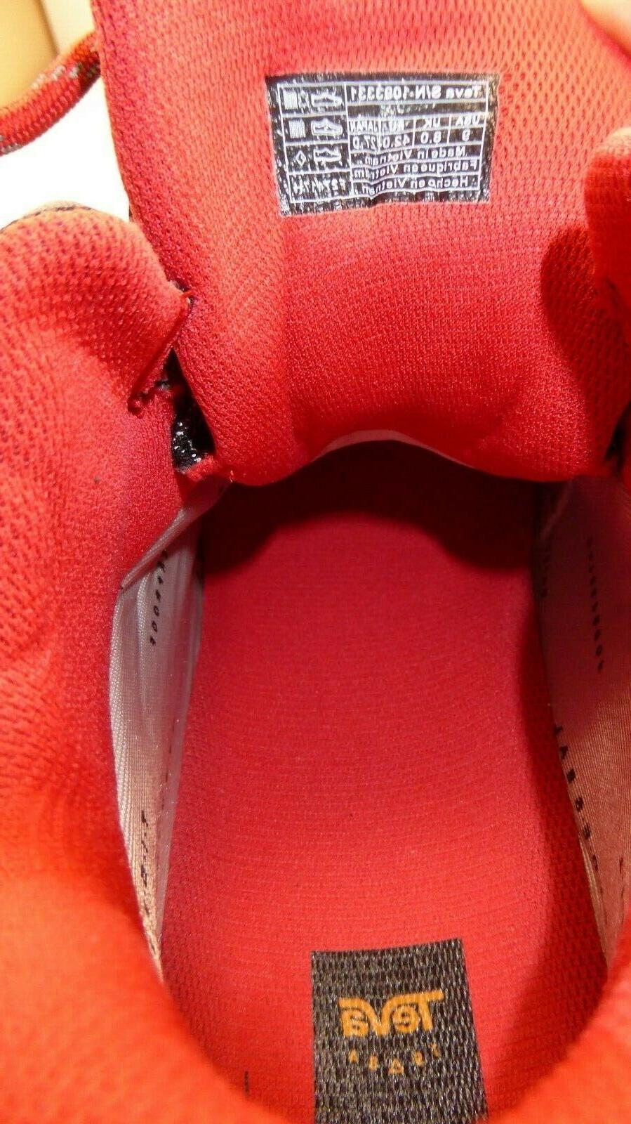 NEW Teva Men's 9 Waterproof Flash $150 Hiking Boots Gray